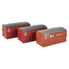 36-004A - BD Large Containers Bauxite & Crimson (x3) - Regular -23.79