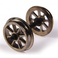 36-014 - Metal Spoked Wagon Wheels (x10) - Regular -18.79
