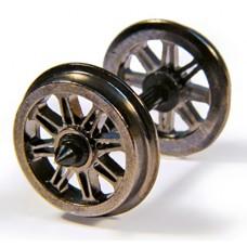 Branch-Line 36-028 - Metal Split Spoked Wagon Wheels (x10)