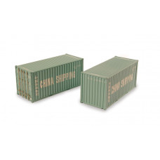 Branch-Line 36-125 - 20ft Containers 'China Shipping' (x2)