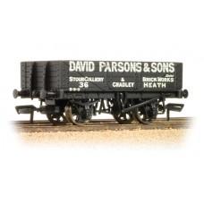 Branch-Line 37-066 - 5 Plank Wagon Wooden Floor 'David Parsons & Sons'