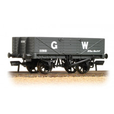 37-068 - 5 Plank Wagon Wooden Floor GWR Grey - Regular -26.79
