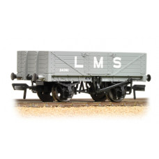 37-070 - 5 Plank Wagon Wooden Floor LMS Grey - Regular -26.79