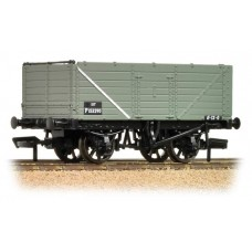 Branch-Line 37-081F - (D) 7 Plank End Door Wagon BR Grey
