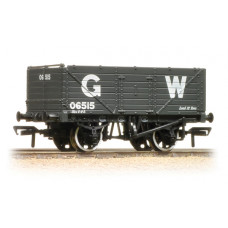 37-087 - 7 Plank End Door Wagon GWR Grey - Regular -27.79
