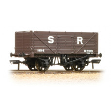 37-090 - 7 Plank End Door Wagon SR Brown - Regular -27.79