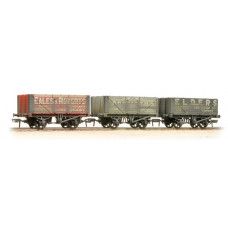 37-095A - Coal Trader' Pack 7 Plank Private Owner Wagons Weathered - Regular -79.79