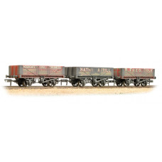 37-097 - Coal Trader' Pack 5 Plank Wagons - Weathered - Regular -72.79