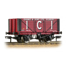 37-115 - 7 Plank Fixed End Wagon I.C.I. Chance & Hunt Ltd - Regular -27.79