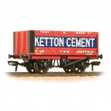 37-134B - 8 Plank End Door Wagon 'Ketton Cement' - Regular -27.79