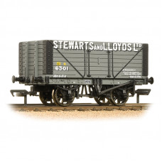 37-157A - 8 Plank Fixed End Wagon 'Stewart & Lloyds Ltd' - Regular -27.79