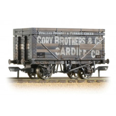 37-185A - 7 Plank Wagon with Coke Rails (BR) Cory Brothers & Co Weathered - Regular -30.79