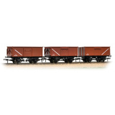 37-238 - Triple Pack 16 Ton Steel Mineral Wagon BR Bauxite - Regular -79.79
