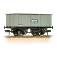 Branch-Line 37-275F - 27 Ton Steel Tippler Wagon BR Grey 'Iron Ore'