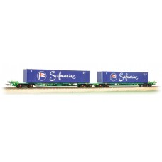Branch-Line 37-314 - Intermodal Bogie Wagons with 45ft Containers 'Safmarine'
