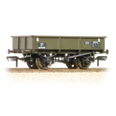 Branch-Line 37-356 - 13 Ton Steel Sand Tippler Wagon BR Departmental Olive Green