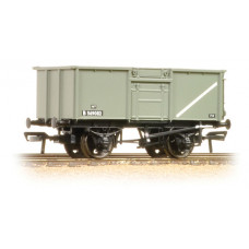 37-378 - 16 Ton Pressed End Door Steel Mineral Wagon BR Grey - Regular -26.79