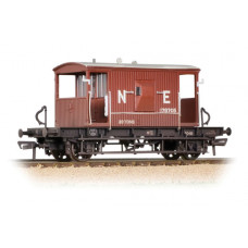 37-529B - 20 Ton Brake Van LNER Oxide Weathered - Regular -40.79