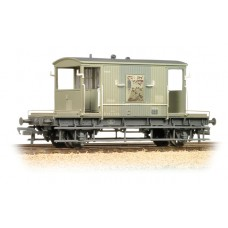 37-530 - (D) 20 Ton Brake Van BR Grey Weathered - Regular -40.89