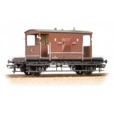 Branch-Line 37-537D - 20 Ton Brake Van BR Bauxite (Late) Weathered