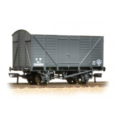 37-730C - 12 Ton Ventilated Van GWR Grey - Regular -28.79
