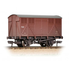 37-754D - 12 Ton GWR Fruit Van BR Bauxite (Early) Weathered - Regular -31.79