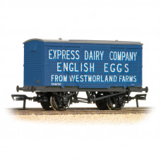 37-807 - 12 Ton Planked Ventilated Van 'Westmoreland Eggs' - Regular -28.79