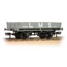 Branch-Line 37-933 - 3 Plank Wagon LMS Grey