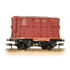 Branch-Line 37-951B - Conflat wagon with Crimson BD container