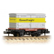 37-991 - Conflat with BA Vented Container 'Speedfreight' - Regular -28.79