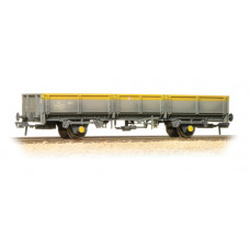 38-059 - ZDA Bass Dropside Open Wagon BR Grey & Yellow Weathered - Regular -40.79