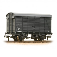 38-083A - 12 Ton Southern 2+2 Planked Ventilated Van GWR Grey - Regular -28.79