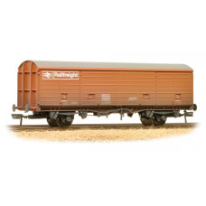 38-145 - 29 Tonne VDA Sliding Door Box Van BR Railfreight Bauxite Wea - Regular -41.79