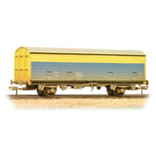 38-146 - 29 Tonne VDA Sliding Door Box Van BR CM&EE Blue & Yellow Weathered - Regular -33.89