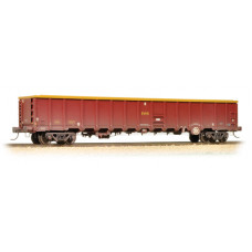 38-243 - MBA Megabox High-Sided Bogie Box Wagon EWS Weathered (with Buffers) - Regular -72.79