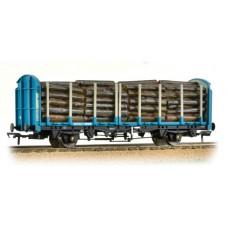38-302 - OTA (exVDA) Timber Carrier Wagon Kronospan Blue with Lumber Load - Regular -47.79