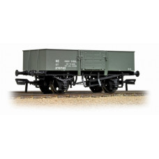 38-329A - 13 Ton H/Sided Steel Wagon (Smooth Sides & Wooden Doors) LNER Grey - Regular -33.79