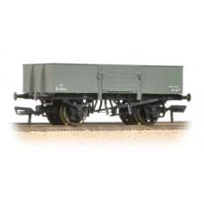 38-330 - 13 Ton H/Sided Steel Wagon (Smooth Sides & Wooden Doors) BR Grey - Regular -33.79