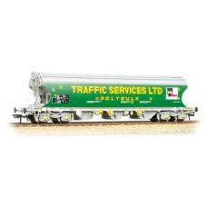 38-427 - (D)Bulk Grain Bogie Hopper Wagon 'Traffic Services Limited' - Regular -98.89