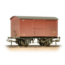 38-477 - 12 Ton Non-ventilated Van BR Bauxite (Early) Weathered - Regular -31.79