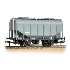 38-604 - 21 Ton Grain Hopper BR PO Worthington Grey - Regular -40.79