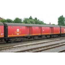 39-750 - BR Mk1 TPO POT Stowage Van Post Office Red with EWS Branding - Regular -72.79