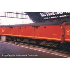 39-760 - BR Mk1 TPO POT Stowage Van Royal Mail Letters Large Red - Regular -72.79