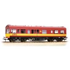 39-778 - LMS 50' Inspection Coach EWS Maroon Half Yellow Ends - Regular -94.79
