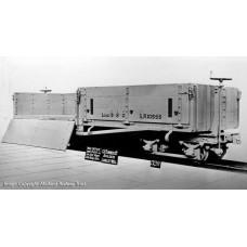 393-050 - Open Bogie Wagon WW1 WD Grey Weathered - Regular -43.79
