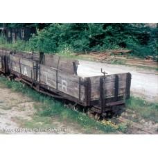 393-052 - Open Bogie Wagon Ashover Railway Light Grey Weathered - Regular -43.79