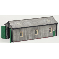 44-0038 - Narrow Gauge Loco Shed - Regular -76.79