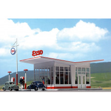 1005 - Gas Station 1950s ESSO