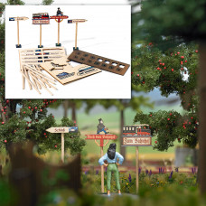 10250 - Wooden Signposts