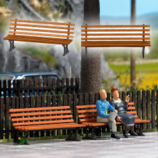 10300 - Wooden Park Benches